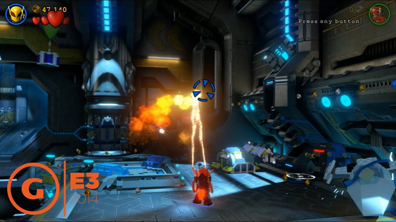 Lego Batman 3: Beyond Gotham - E3 2014 Character Gameplay ...