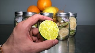 How to Freeze Dry #7 (Limes)