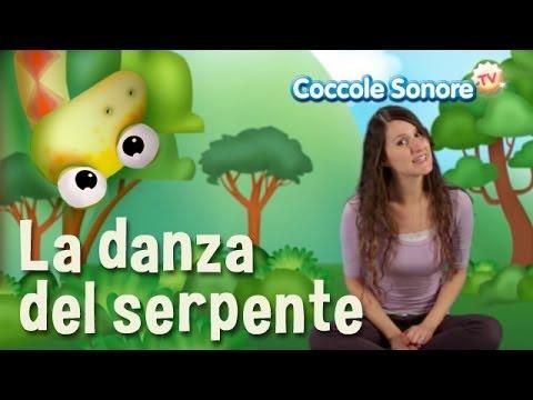 La danza del serpente balliamo con greta canzoni per for Altalena con scivolo per bambini