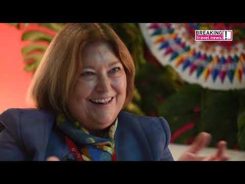 María Amalia Revelo Raventós, minister of tourism, Costa Rica