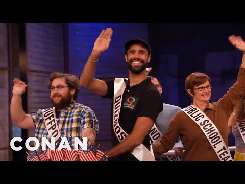 Parade Of America's Low-Pay Heroes  - CONAN on TBS