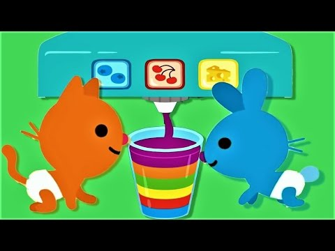 Sago Mini Babies Pet Cafe - Baby Learn Colors and Play Preschool Game