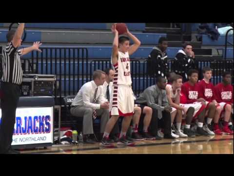 Duluth East Boys Basketball at Bemidji - Lakeland News Sports - February 4, 2016