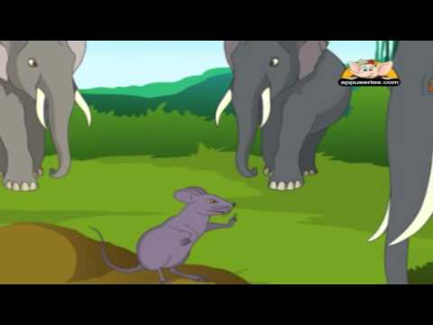 Related to Marathi Moral Stories - Lion And The Mouse - Animated