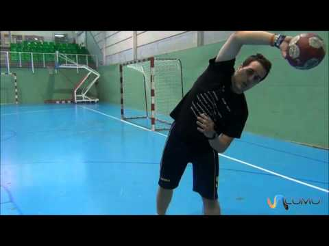 Lanzar La Pelota En Balonmano (handball) video