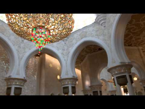 Sheikh Zayed Grand Mosque Abu Dahbi Tourist Guide