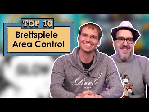 Top 10 - Brettspiele - Area Control