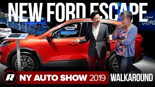 2020 Ford Escape walkaround | New York Auto Show 2019