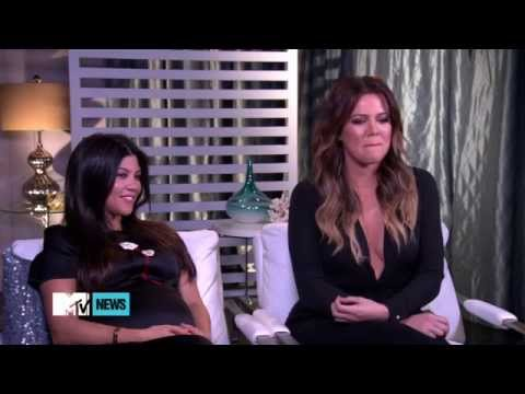 Khloe Kardashian & Kourtney Kardashian interview for MTV (2014)