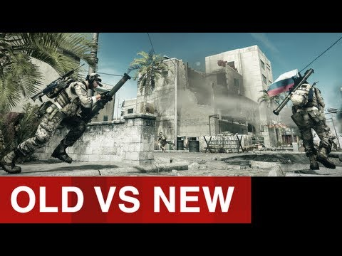 Battlefield 3: Mapas Bf2 - Old Vs New