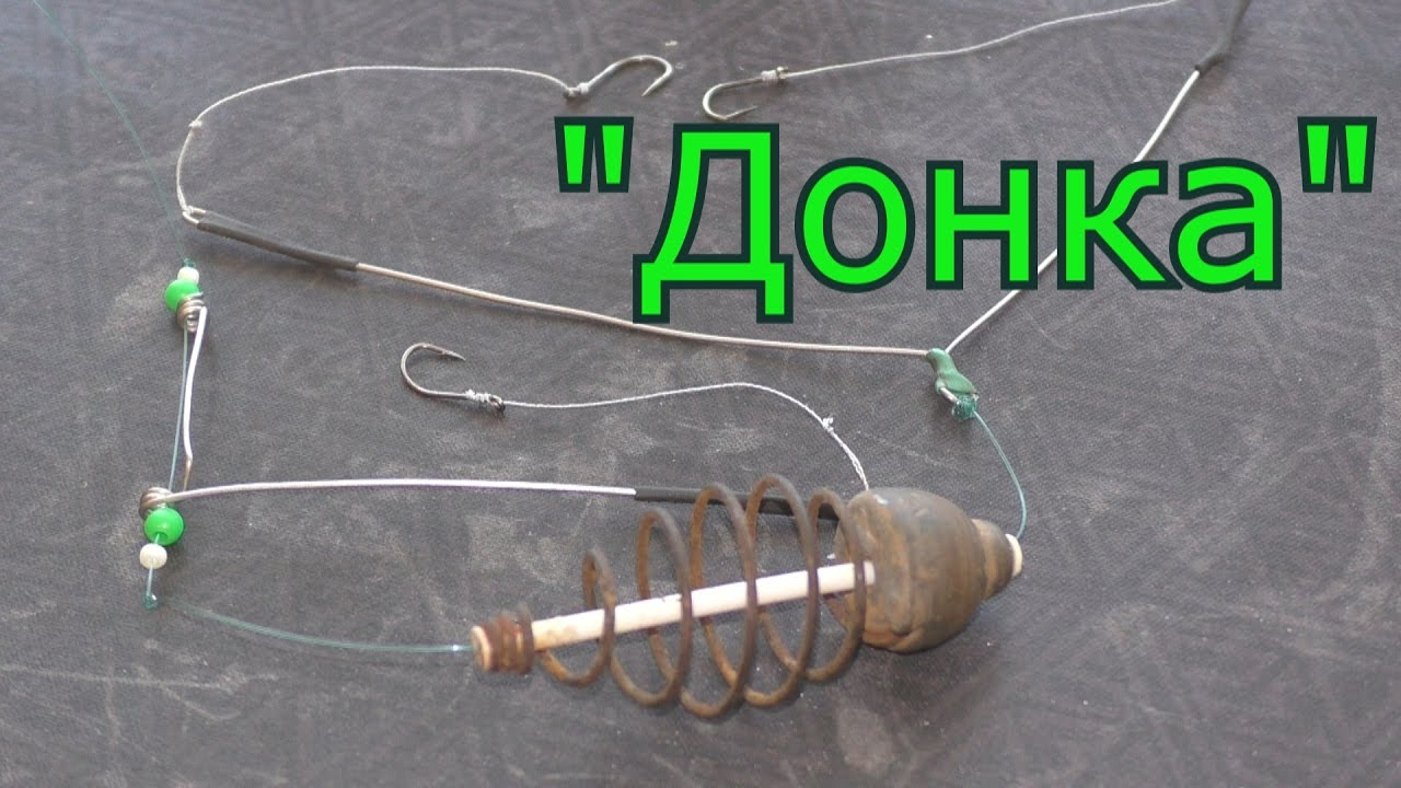 самая простая снасть для ловли рыбы