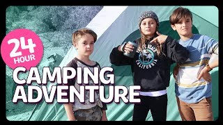 SURVIVING 24HRS IN THE DESERT camping Challenge | Sophie Fergi