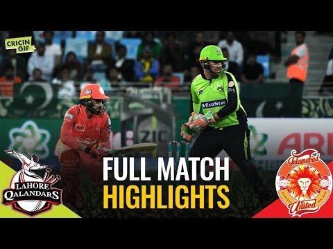 PSL 2019 Match 1: Islamabad United vs Lahore Qalandars   Full Match Highlights thumbnail