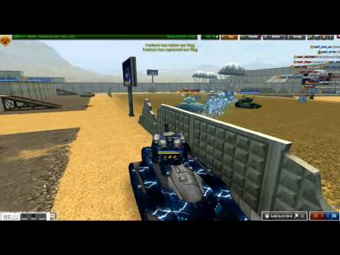 Tanki Online Railgun M3 and Dictator M3 TEST SERVER Gameplay By SirDarkTank