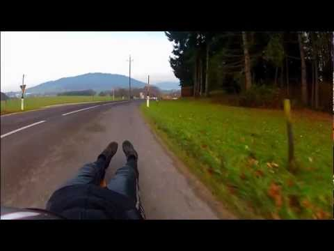 test - navigator drone on classic luge