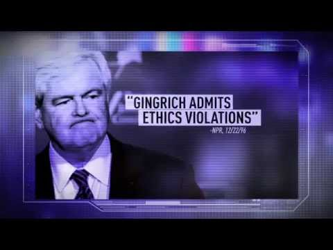 Newt Gingrich: Selling Access from Ron Paul ad