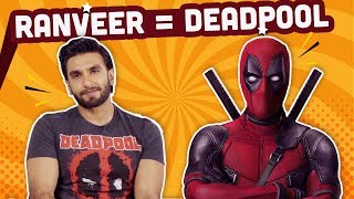 Ranveer Singh reveals his  Indian superhero name and superpower | Deadpool 2 | Bollywood | Pinkvilla