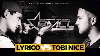 BMCL RAP BATTLE: LYRICO VS TOBI NICE (BATTLEMANIA CHAMPIONSLEAGUE)