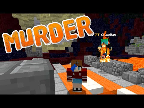 MINECRAFT MURDER GAMEPLAY | CHADS ON FIRE! | RADIOJH GAMES & GAMER CHAD