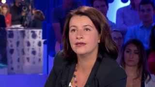 """""""Qui savait pour Jérôme Cahuzac?"""" Léa Salamé à Cécile Duflot - On n'est pas couché 30/08/2014 #ONPC"""