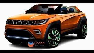 인도 마힌드라 신형 컨버터블 SUV 차명, '스팅어'로 결정