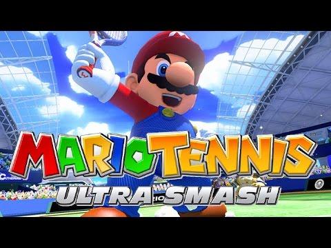 Mario Tennis Ultra Smash - O Começo De Tudo