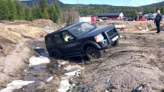 LAND ROVER DISCOVERY 3 OFFROADING, MUD, ROCKS, SNOW AND ICE