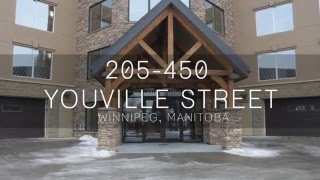 MIGUEL TEIXEIRA PRESENTS **CONDO FOR SALE**  205 - 450 YOUVILLE STREET  WPG, MB