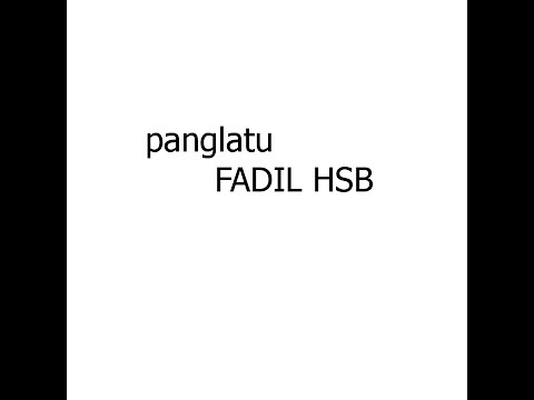 PANGLATU FADIL HSB