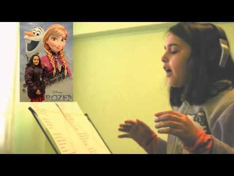 FROZEN - Let It Go - Romanian -S-a întâmplat -  Alexandra Butoi