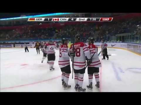 Germany-Canada 3-9 - 2013 IIHF Ice Hockey U20 World Championship