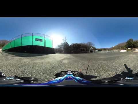 【360度VR動画】ラジコン×THETA ダートストライカー by CCP