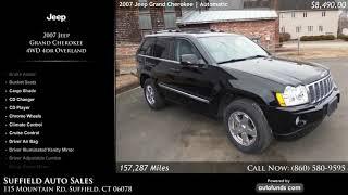 Used 2007 Jeep Grand Cherokee | Suffield Auto Sales, Suffield, CT