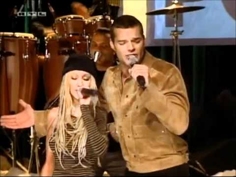 Christina Aguilera Feat Ricky Martin - Nobody Wants To Be Lonely