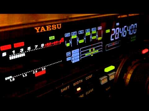 Ham Radio DX QSO PY3VK Yaesu FT-950 10 Meters SSB