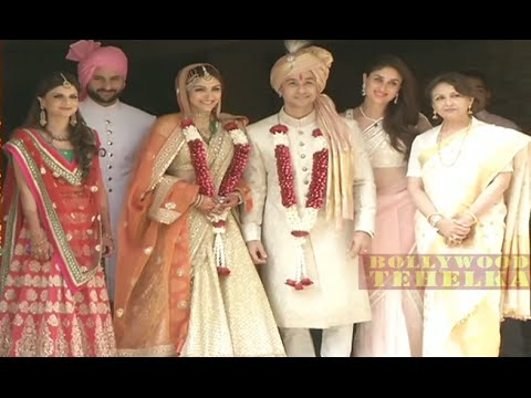 "Soha Ali Khan-Kunal Khemu's ""Wedding"" Party- Video 2015 !"