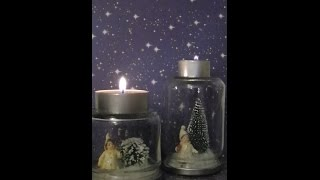 DIY Kleine Geschenke / little gifts  # 2  (Kerzenhalter / candle holder)