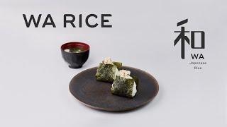 【WA RICE】JAPANESE CUISIN  Onigiri Rice Balls
