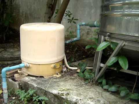 ปั๊มน้ำกับท่อประปา