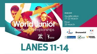 Doubles Squad A Lanes 1114 World Bowling Junior Championships