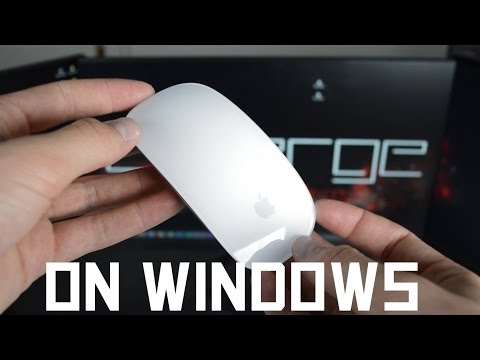 How to use the Apple Magic Mouse with a Windows XP/Vista/7/8/8.1 PC