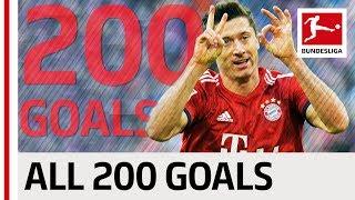 Robert Lewandowski - All 200 Bundesliga Goals