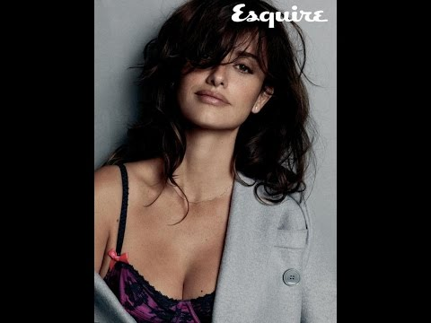 PENELOPE CRUZ NAMED 'SEXIEST WOMAN ALIVE' BY ESQUIRE 2014 [PENELOPE CRUZ SEXIEST WOMAN 2014]