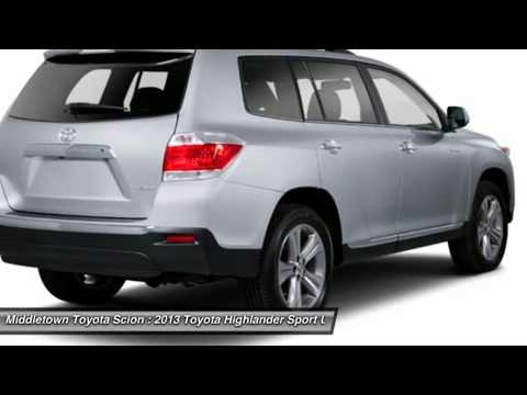 2013 TOYOTA HIGHLANDER Middletown, CT 1308065S