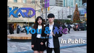 Download Lagu [KPOP IN PUBLIC] KARD (카드) - You In Me DANCE COVER | Anson ft. Hagan (5Guys Official) Gratis STAFABAND