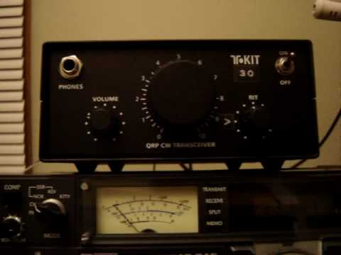 30 m QRP CW On-Air Demo