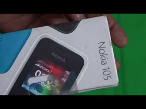 Microsoft Nokia 105 Dual Sim Mobile Unboxing Video