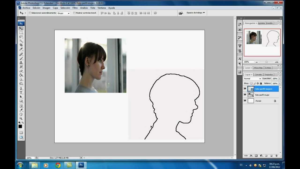 Cómo Crear un Contorno en una Imagen de Photoshop