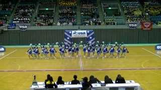 横浜立野高校 チアダンス部 MAD.DIVAS in USA Regional Competition 2014