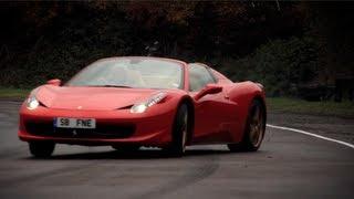 Ferrari 458 Spider Nailed  CHRIS HARRIS ON CARS